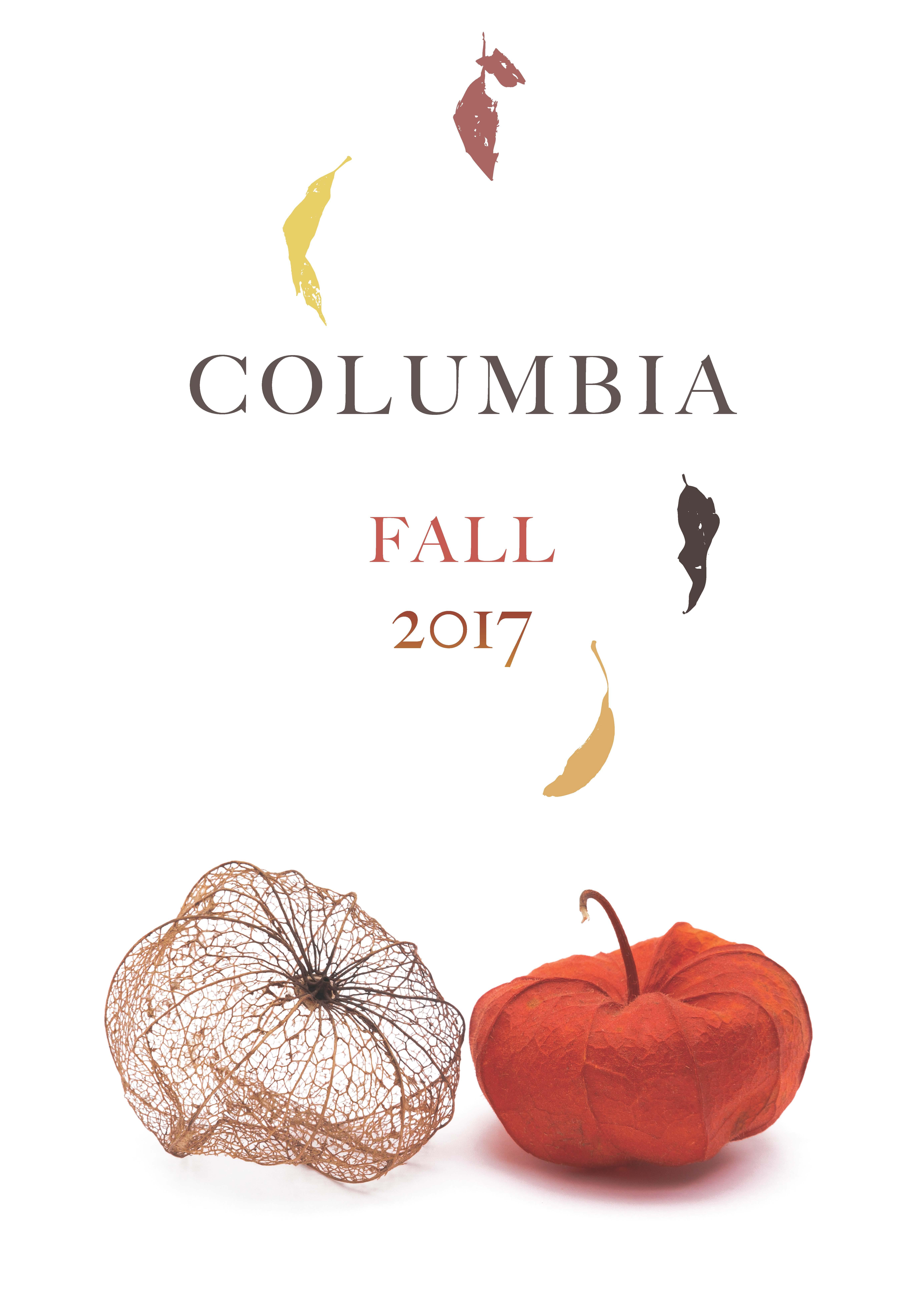 Columbia UP Fall 2017 Catalog