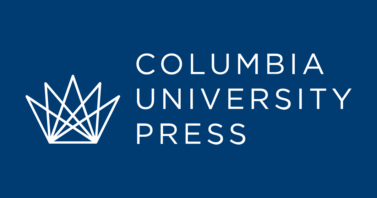This image showcases the official logo for the Columbia university press