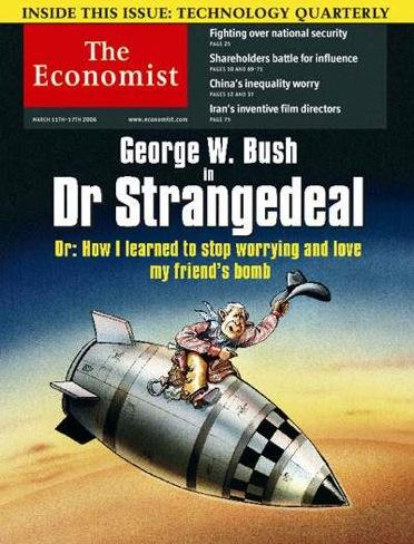 Bush as Strangelove